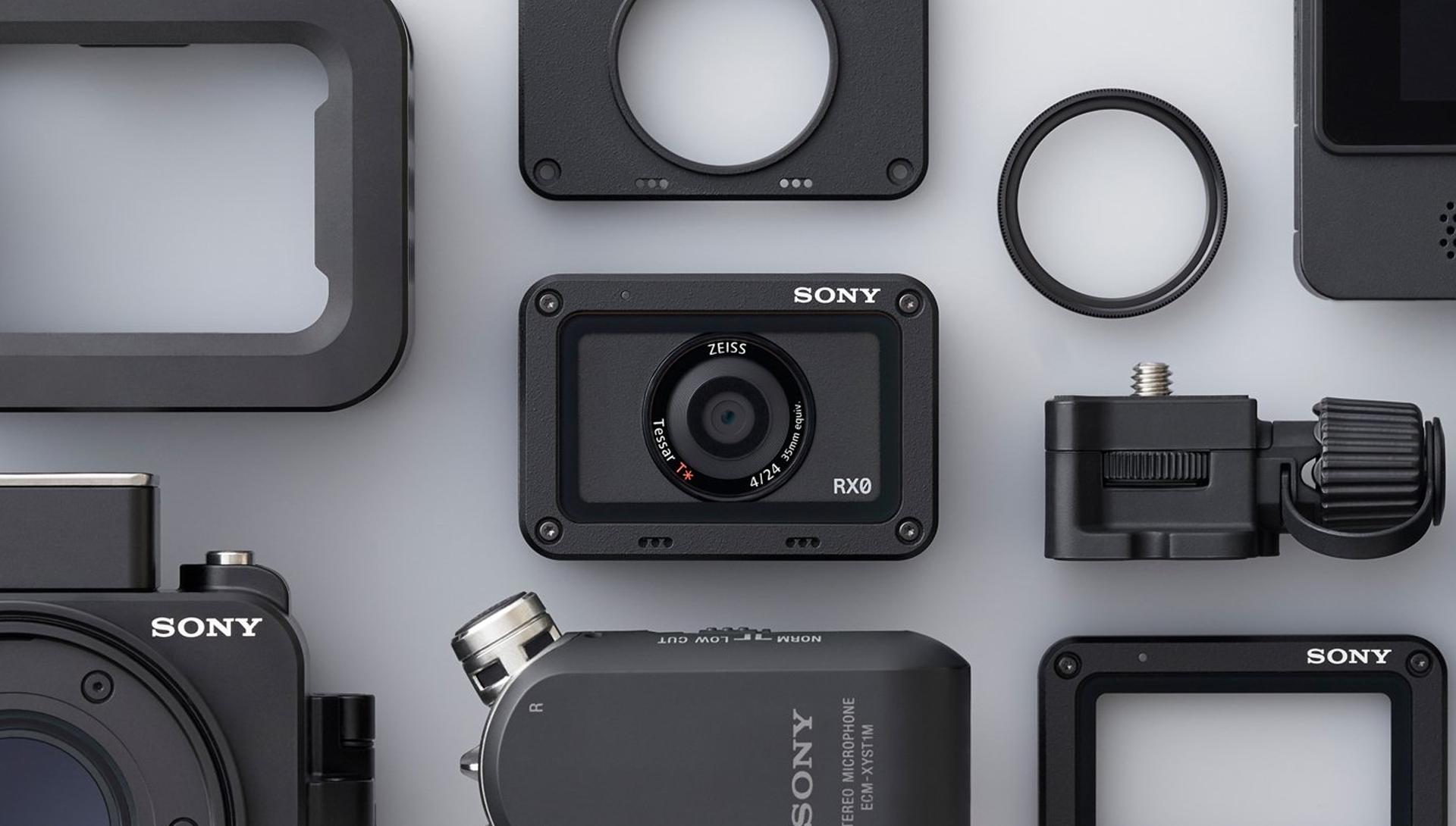 Dettaglio Sony RX0