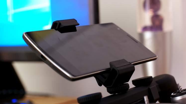 Dettaglio smartphone Polarpro Katana per DJI Mavic Pro