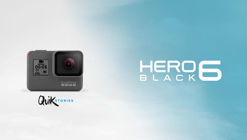 La Gopro Hero 6 è qui! La trovi già nel nostro catalogo!