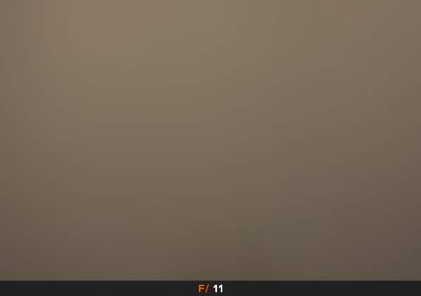 Test Vignettatura f11 FujiFilm XF 23mm f1.4 R