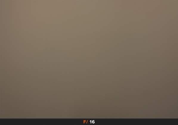 Test Vignettatura f16 FujiFilm XF 23mm f1.4 R