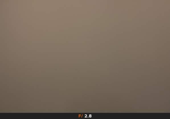 Test Vignettatura f2.8 FujiFilm XF 23mm f1.4 R