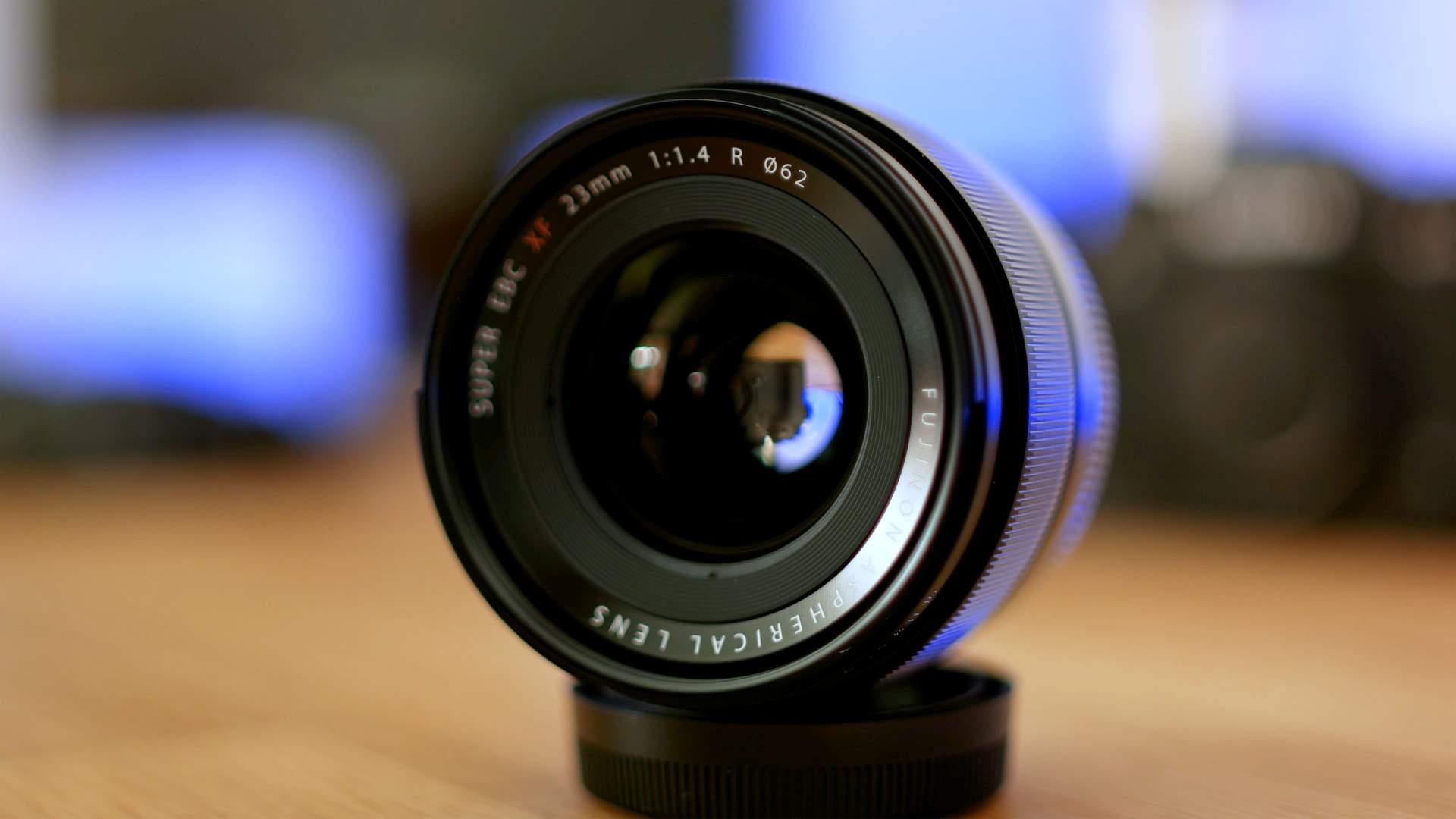 Vista frontale FujiFilm XF 23mm f1.4 R