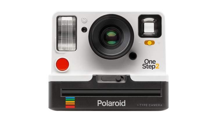 Vista frontale Polaroid Originals Impossible Project OneStep 2 bianca