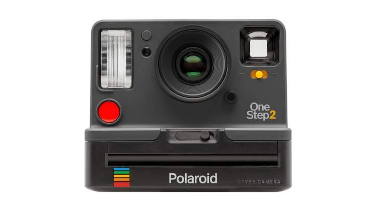 Vista frontale Polaroid Originals Impossible Project OneStep 2 grafite