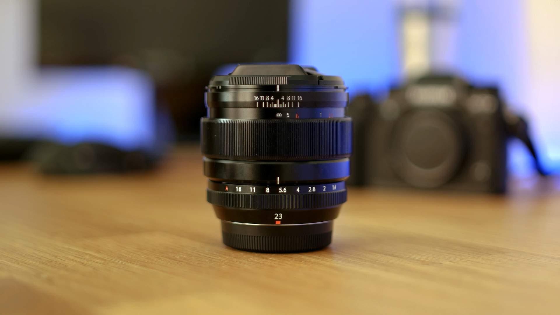 Vista generale FujiFilm XF 23mm f1.4 R