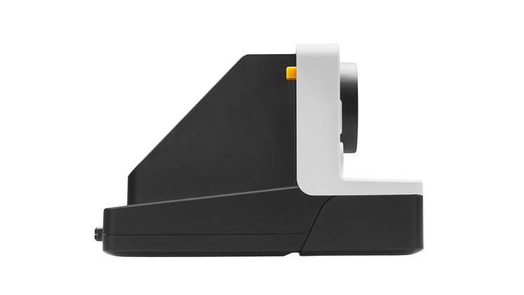 Vista laterale Polaroid Originals Impossible Project OneStep 2 bianca