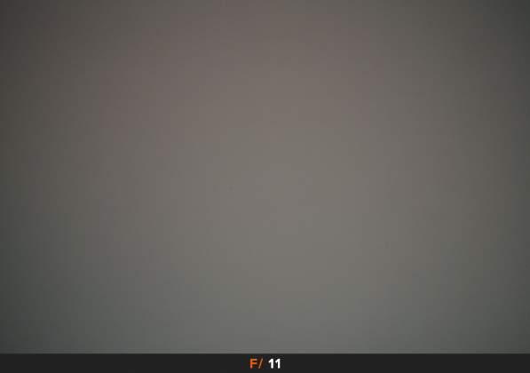 Test Vignettatura f11 Samyang AF 14mm f2.8 EF