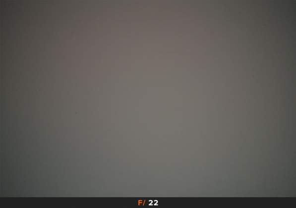 Test Vignettatura f22 Samyang AF 14mm f2.8 EF