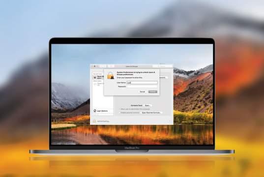Come risolvere il bug sulle password di MacOS High Sierra
