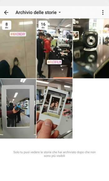 Instagram Ollo Store Archivio Storie Tutorial