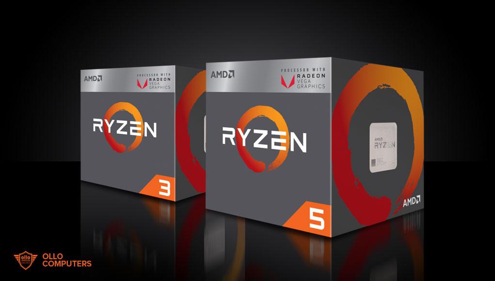 AMD lancia le nuove CPU Ryzen con scheda grafica Vega integrat