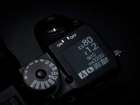 Dettaglio LCD Mirrorless Fujifilm X-H1