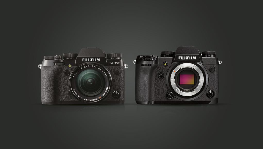 FujiFilm offre fino a 200€ di sconto su X-H1 e X-T2!