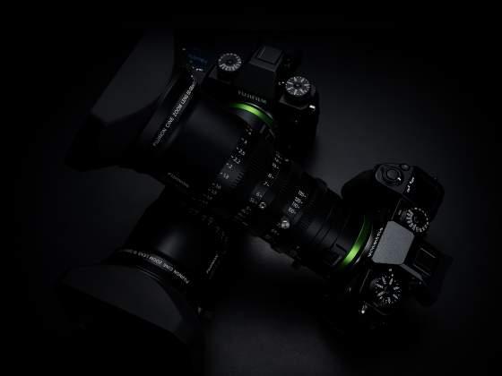 Mirrorless Fujifilm X-H1 ottiche MK cinema