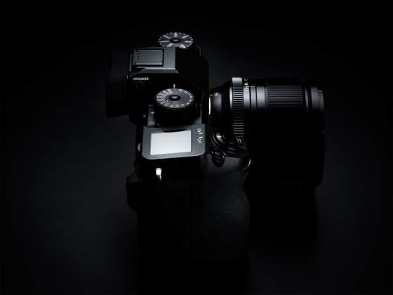 Vista laterale Mirrorless Fujifilm X-H1