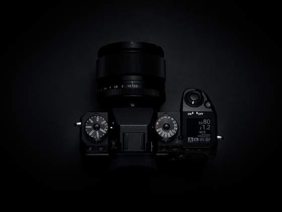 Vista superiore Mirrorless Fujifilm X-H1