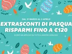 A Pasqua risparmi fino a 120€ con gli extra sconti del weekend