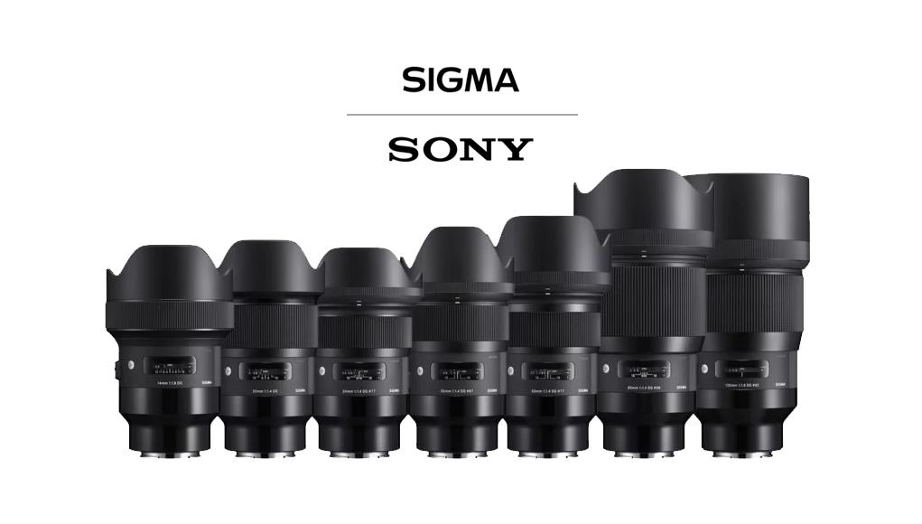 Sigma lancia 7 nuovi obiettivi fissi E-Mount per mirrorless Sony
