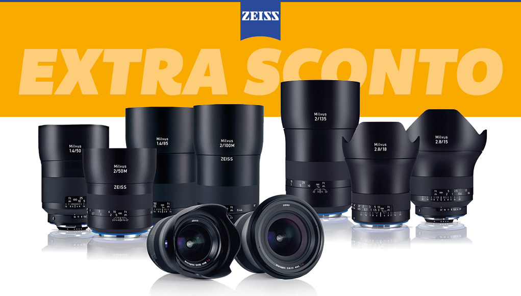 Zeiss Wedding Week, fino a 500€ di extra sconto sulle varie ottiche