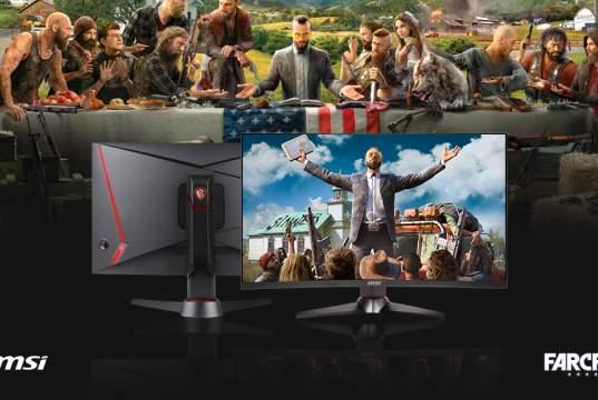 MSI regala Far Cry 5 con l'acquisto di un monitor gaming Optix