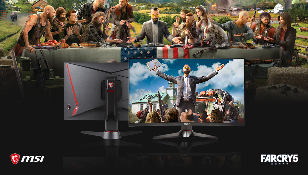 MSI regala Far Cry 5 con l'acquisto di un monitor gaming Optix
