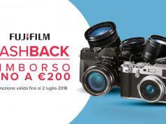 Fujifilm rimborsa fino a 200€ di cashback su fotocamere e obiettivi