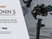 DJI Ronin-S, 18 luglio presentazione in anteprima con Ollo Store