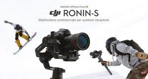 DJI Ronin S - Preordina subito il nuovo gimbal e ricevilo per primo!