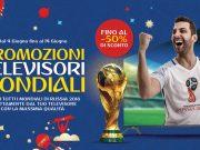 Mondiali Russia 2018, fino al 50% di sconto sui televisori