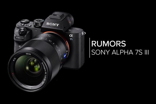 Sony a7S III, alcuni rumors ipotizzano 4k 60fps e video HDR
