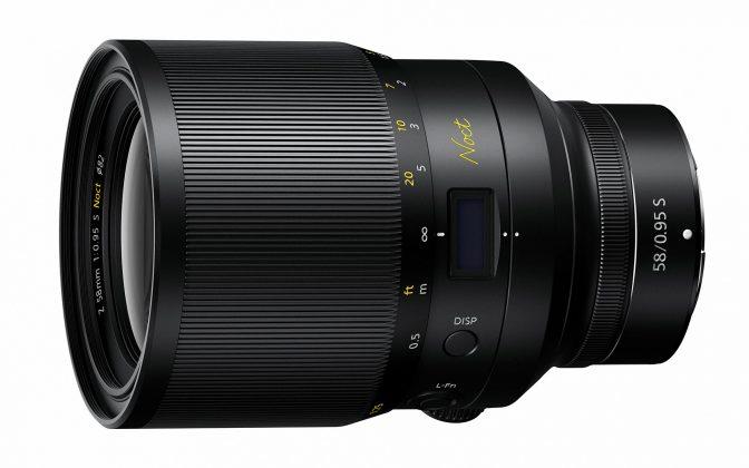 Vista 3-4 Nikon Nikkor Z 58mm f0.95 Noct