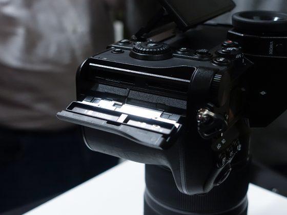 Dettaglio mirrorless full frame Panasonic S1 2