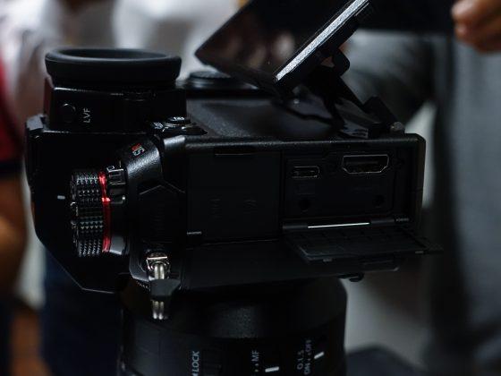 Dettaglio mirrorless full frame Panasonic S1 3