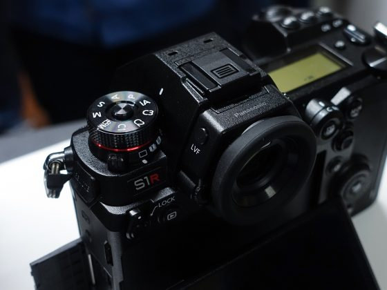 Dettaglio mirrorless full frame Panasonic S1 6