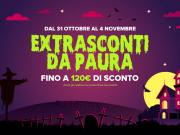 Halloween - Extrasconti fino a 120€ sulle categorie principali