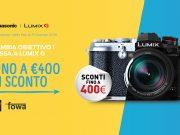 Panasonic, fino a 400€ di sconto sulle mirrorless Lumix