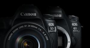 Sconti fino a 300€ su Canon 5D Mark IV e Canon 6D Mark II