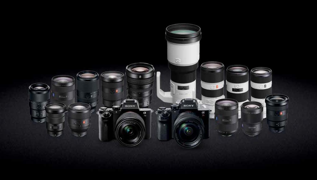 Sony - Sconti e cashback fino a 500€ su mirrorless e ottiche