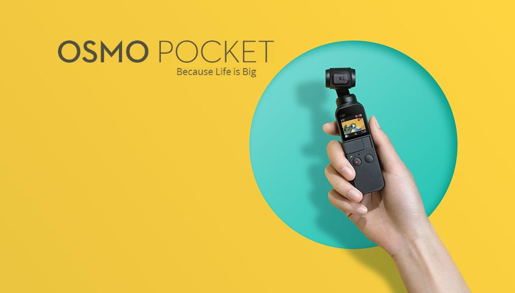 DJI Osmo Pocket - il gimbal più piccolo del mondo?