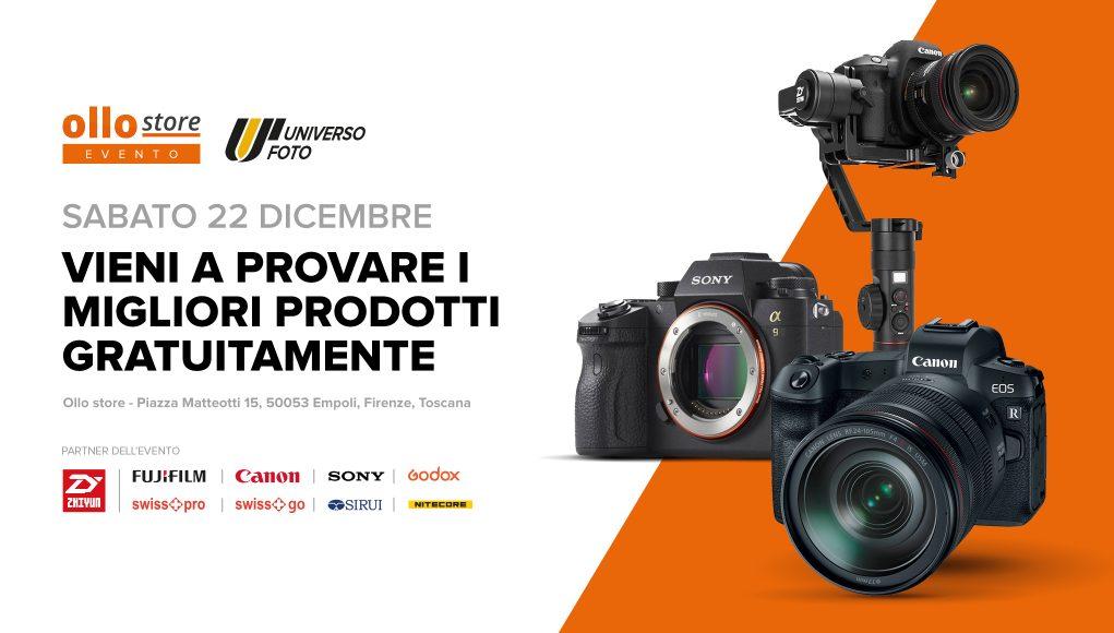 Giornata Universo foto - Canon, Sony e Fuji in prova gratuita con Zhiyun e Sirui