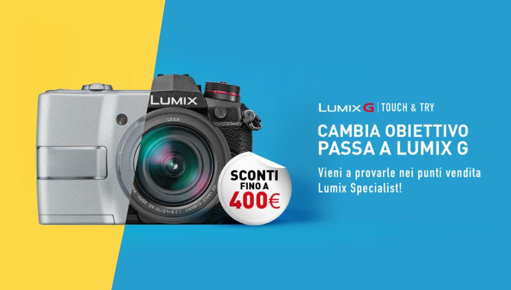 Panasonic Lumix Touch & Try, vieni a testare i prodotti!