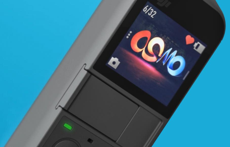 Dettaglio monitor DJI Osmo Pocket