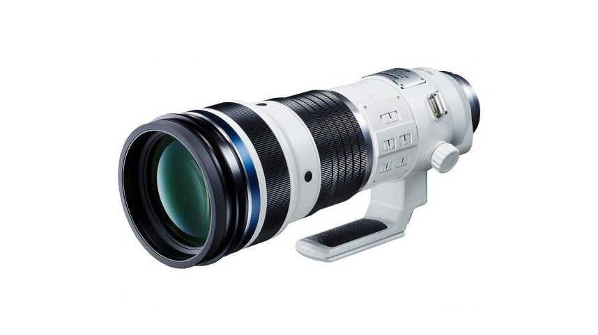 Olympus annuncio obiettivo sportivo M.Zuiko Digital 150-400mm f4.5 IS Pro