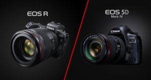Canon EOS R vs 5D Mark IV, ecco tutte le principali differenze