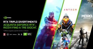 Nvidia regala Anthem, Battlefield V e Metro Exodus con le GeForce RTX