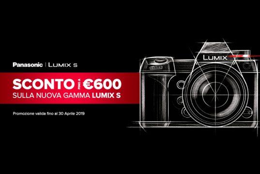 Acquista ora una Panasonic S1 o S1R, fino a 600€ di sconto per te!