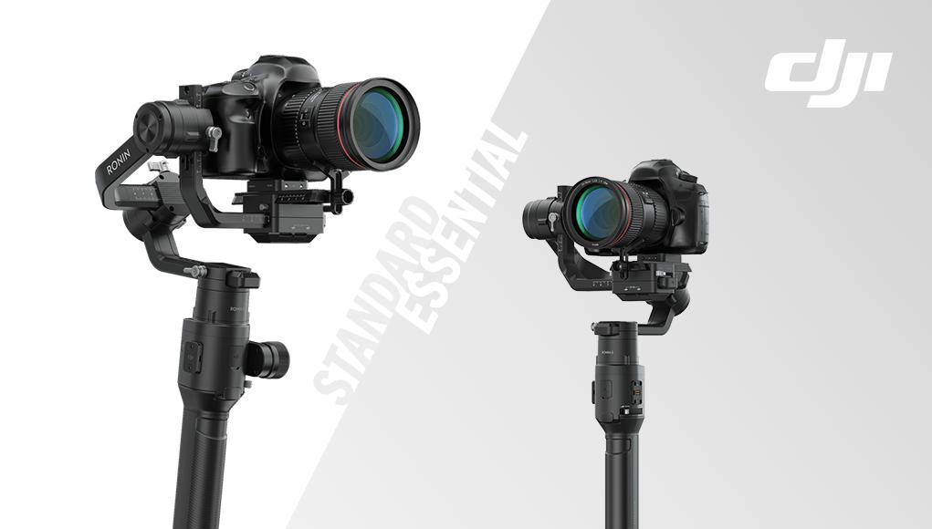 DJI Ronin-S Essential kit vs Standard kit, differenze e quale scegliere