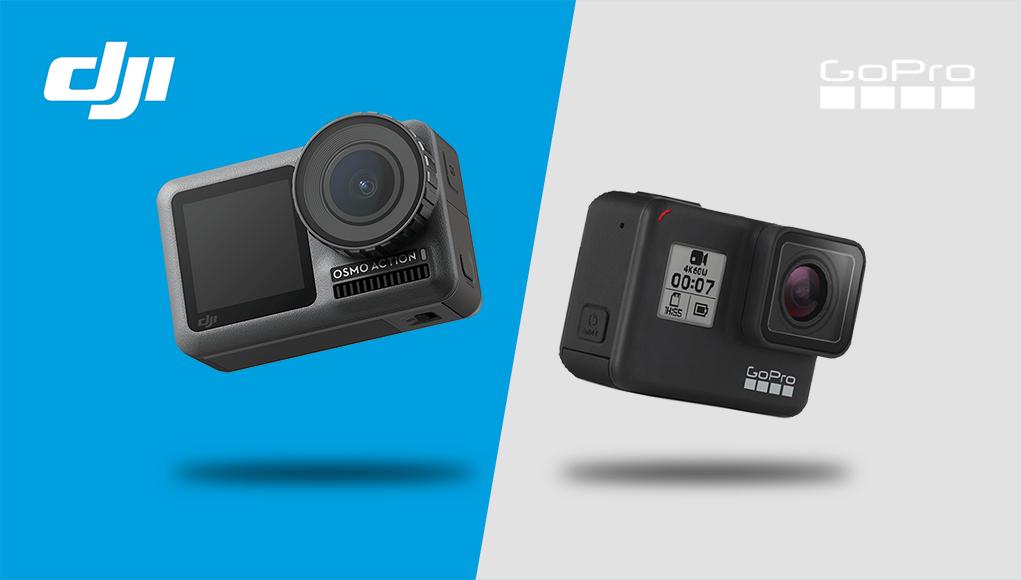Osmo Action vs GoPro 7, chi è la action cam migliore?