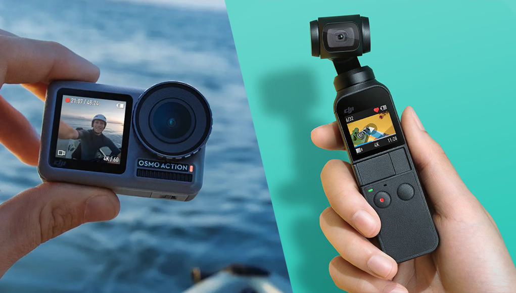 Dji Osmo Action vs Osmo Pocket, quale devi comprare